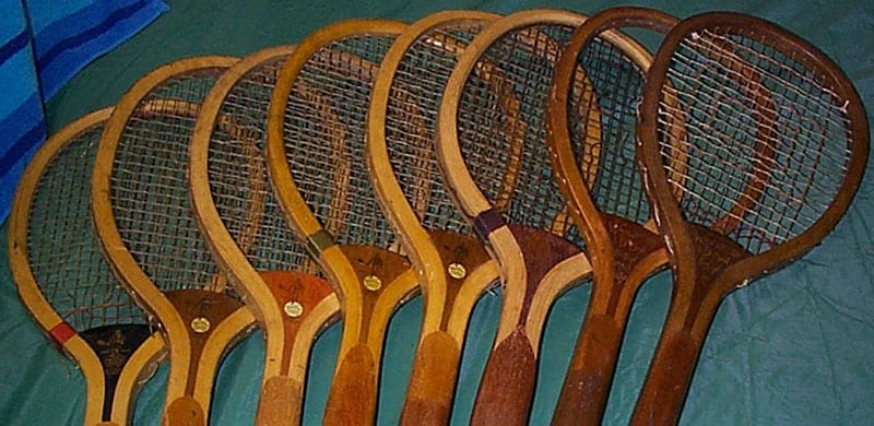 Early Italian Raquets Tennis