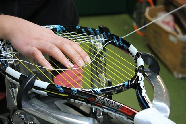 Hybrid Stringing Technique