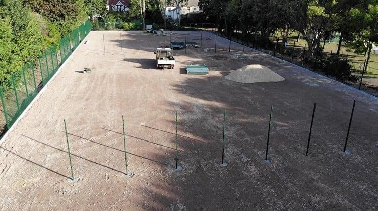 DIY Tennis Court