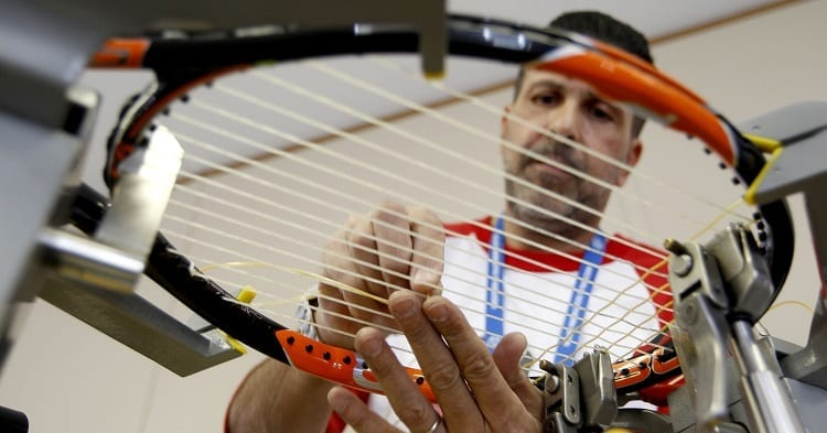 Changing Tennis Racket Strings