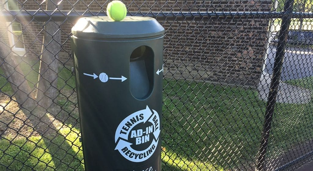 tennis ball recycling programs