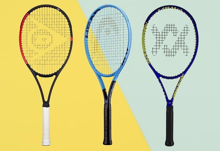 different types of rackets