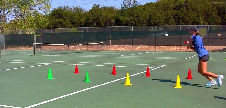 cones for tennis practice