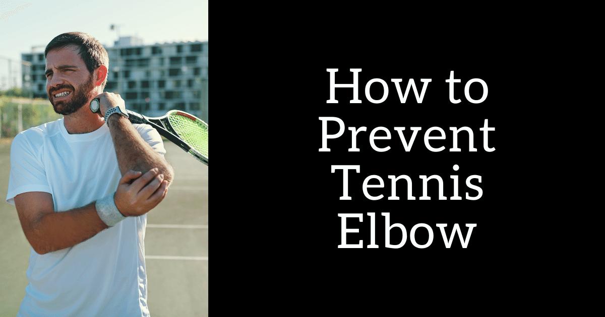 prevent tendonitis in elbow