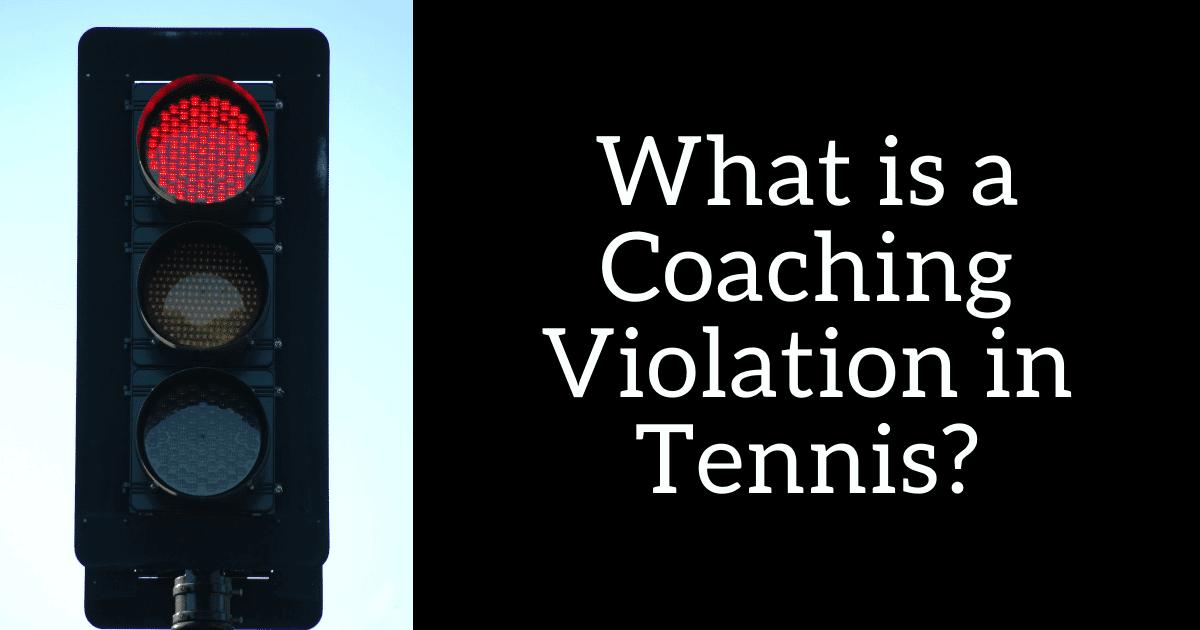 tennis coaching penalty