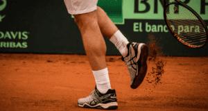 snug tennis shoes